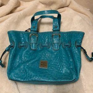 Dooney & Bourke Turquoise Nile Chiara & Case